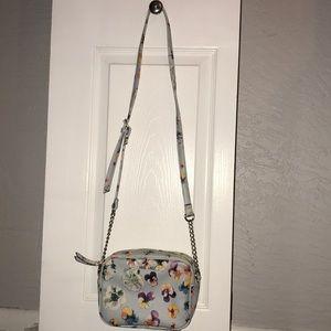 Nine West floral crossbody purse